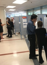 James presenting his SpringSynergy poster